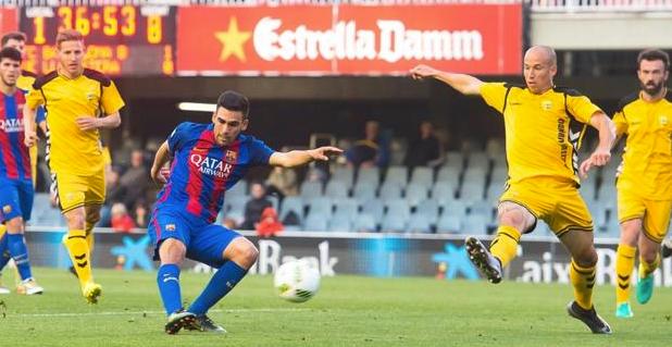 Barcelona B gana 12-0 e iguala máxima goleada de Segunda B