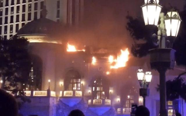 #Video Se incendia el Bellagio de Las Vegas