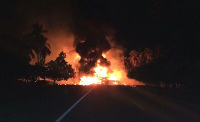 Confirma Fiscalía de Guerrero 24 muertos en choque en la Autopista Siglo XXI - Foto de Quadratín