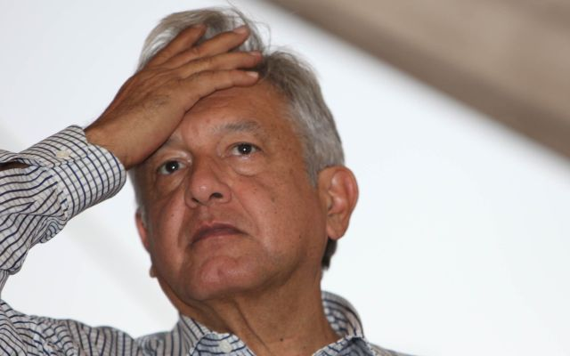 Fiscalía de Veracruz investiga agresión contra AMLO - Foto de Plumas Libres