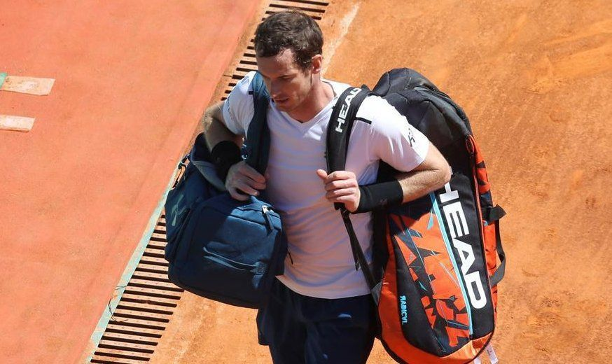 Eliminan a Murray en tercera ronda del Masters de Montecarlo - Foto de Twitter
