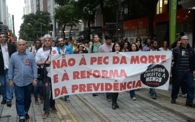 Michel Temer rechaza frenar reformas pese a huelga general en Brasil - Foto de Notimex