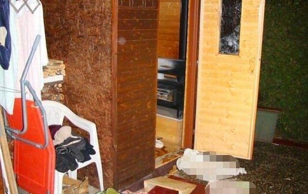 Mujeres mueren tras quedar atrapadas en sauna - Foto de Daily Mail