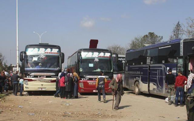 Ataque durante evacuación deja al menos 100 muertos en Siria - Foto de AFP