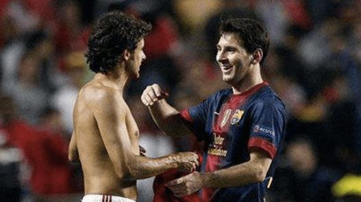La colección de camisetas de Messi