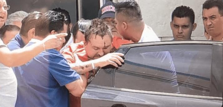Ciudadano ruso regresa al Hospital General en Cancún - Foto de internet