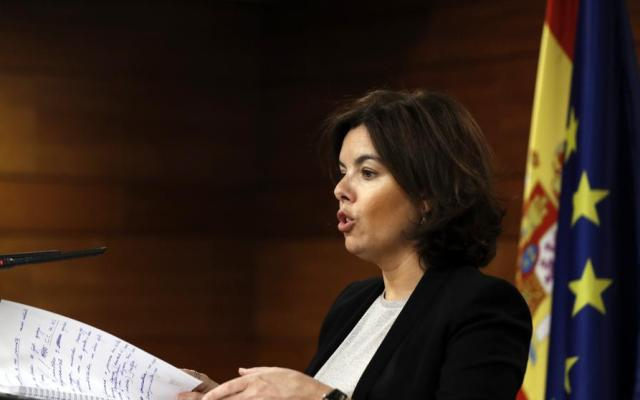 Referéndum en Cataluña es innegociable: gobierno español - Foto de EFE