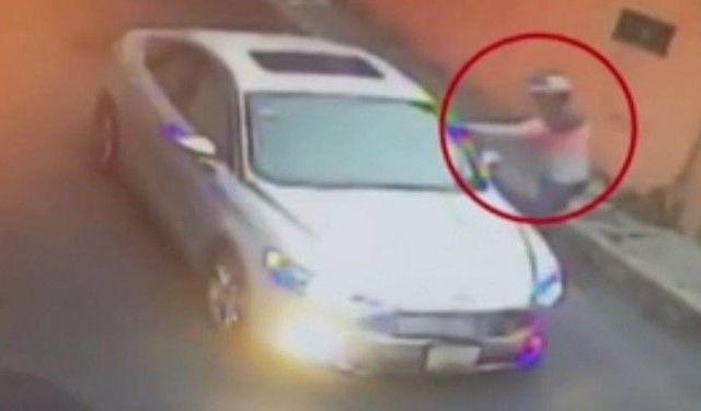#Video Asalto a conductor en la Magdalena Contreras
