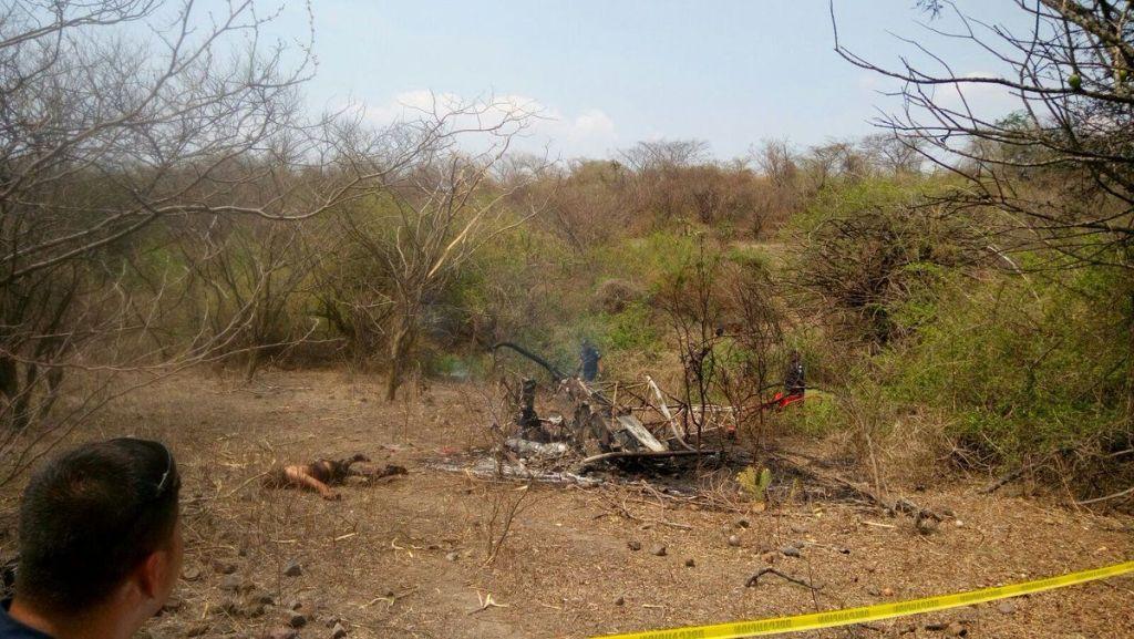 Cae avión pequeño en Morelos - Foto de @rf_morelos
