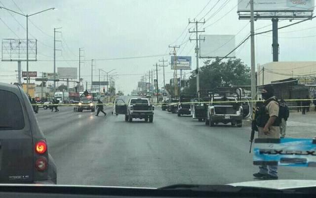 Enfrentamiento en Reynosa deja cinco muertos - Foto de Internet