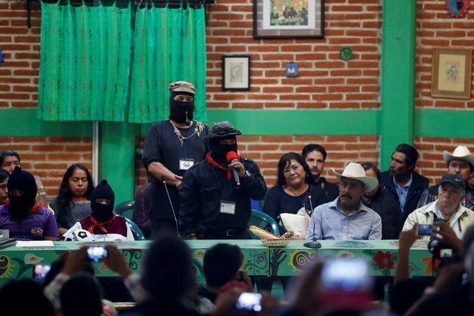 EZLN promueve a mujer indígena para la presidencia - Foto de Reuters