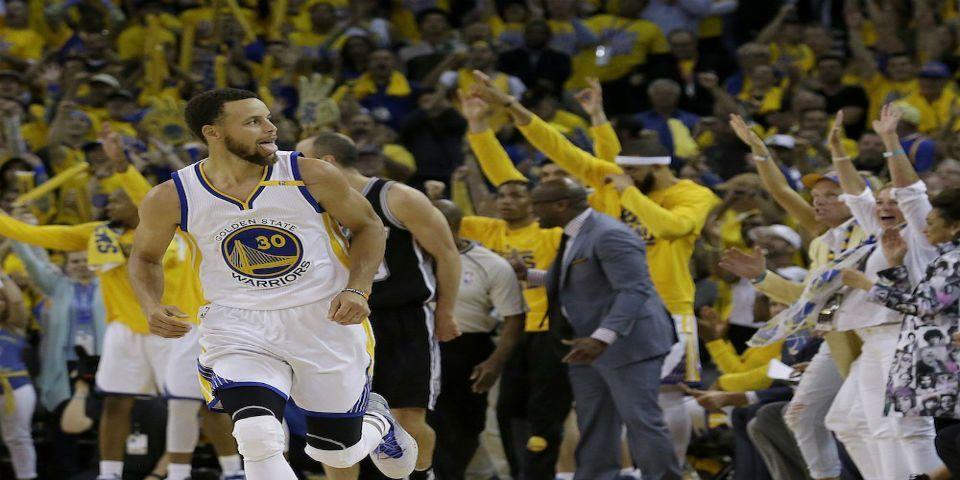 Increíble remontada de Golden State ante San Antonio - Foto de AP