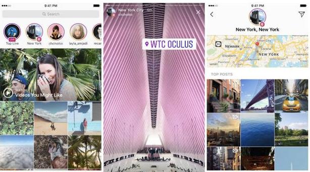 Ahora se pueden buscar Instagram Stories por ubicación y hashtag