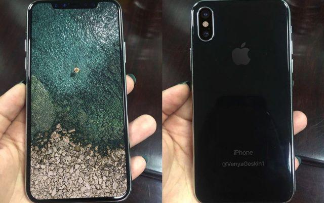 Revelan nuevas imágenes del diseño del iPhone 8 - Foto de @VenyaGeskin1