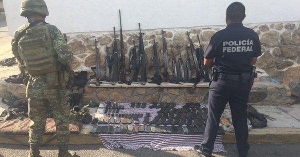 Detienen a tres miembros de Los Viagras en Guerrero - Foto de Grupo de Coordinación Guerrero