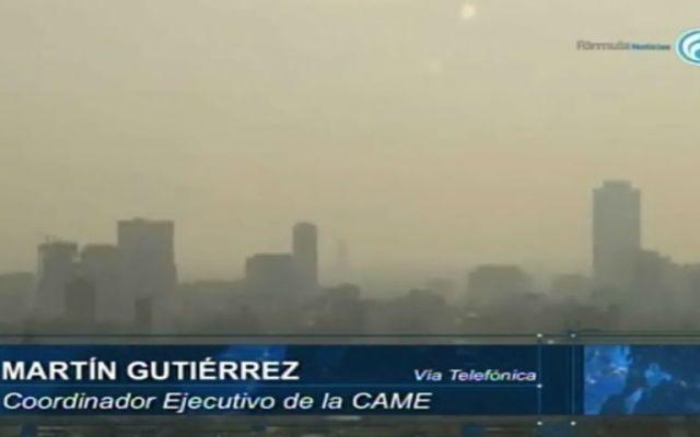 Hay condiciones de riesgo en calidad del aire hasta el sábado: CAMe