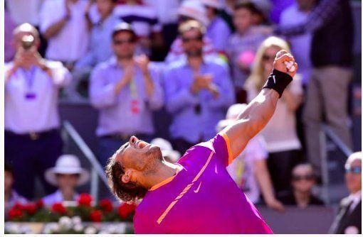 Nadal elimina a Djokovic en el Abierto de Madrid - Foto de @christophclarey