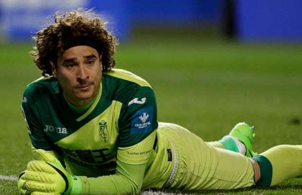 Memo Ochoa, el portero con más goles recibidos en una temporada en España - Foto de Internet