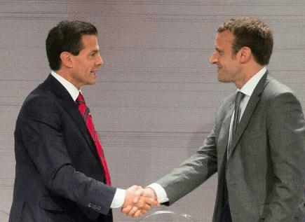 Peña Nieto felicita a Macron por su victoria en las elecciones - Foto de Internet
