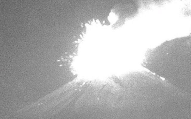 Aumenta la actividad del volcán Popocatépetl - Foto de Webcams de México