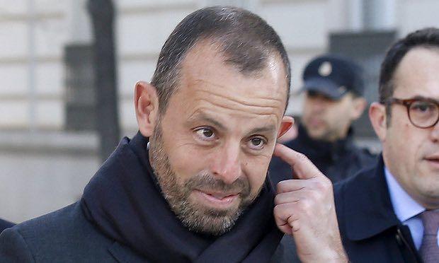 Piden prisión sin fianza para expresidente del Barcelona - Foto de Reuters