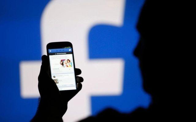 Facebook red social favorita de los mexicanos - Foto de archivo