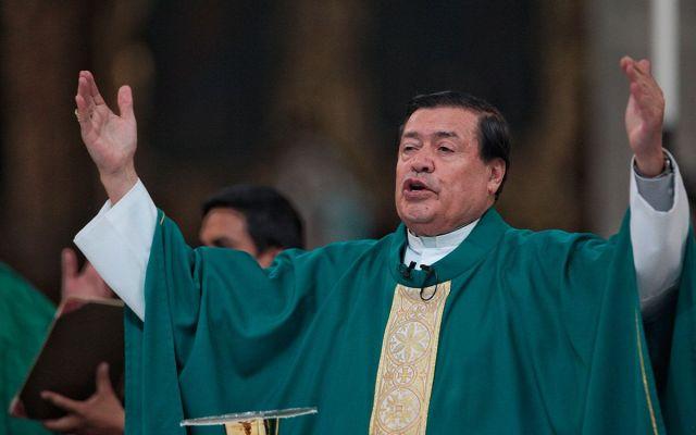 Norberto Rivera no está obligado a renunciar en su cumpleaños: Arquidiócesis - Norberto Rivera. Foto de Cuartoscuro.