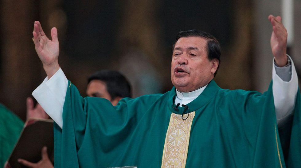 Norberto Rivera 'cruzó los días críticos', pero su estado aún es delicado: Arquidiócesis - Norberto Rivera. Foto de Cuartoscuro.