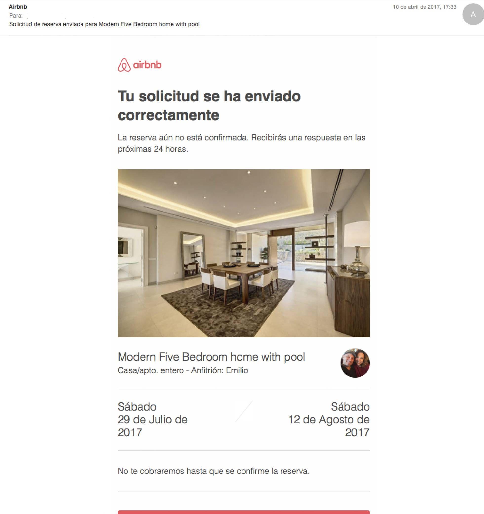 La estafa que se ha vuelto común en Airbnb 1d386dc50b48f