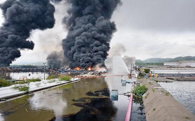 Diputados exhortan a Pemex a explicar causas de incendio en Salina Cruz - Foto de Notimex