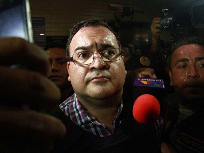 Duarte suspende huelga de hambre - Javier Duarte. Foto de Cuartoscuro