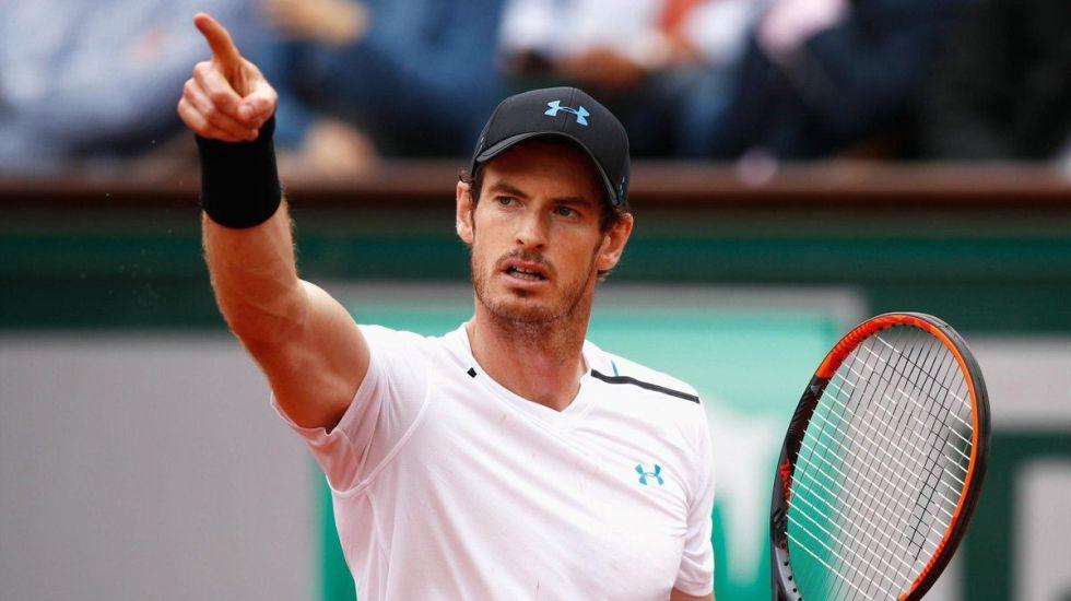 Andy Murray avanza a cuartos de final de Roland Garros