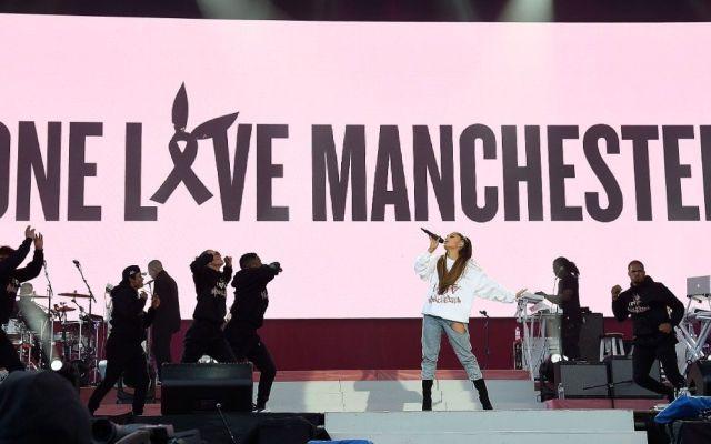 Ariana Grande lanza 'Somewhere over the rainbow' en apoyo a las víctimas de Manchester - Foto de internet
