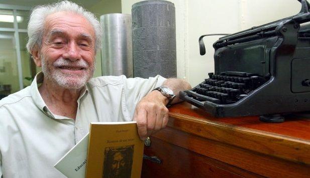 Muere el poeta Raúl Renán a los 89 años - Foto de internet