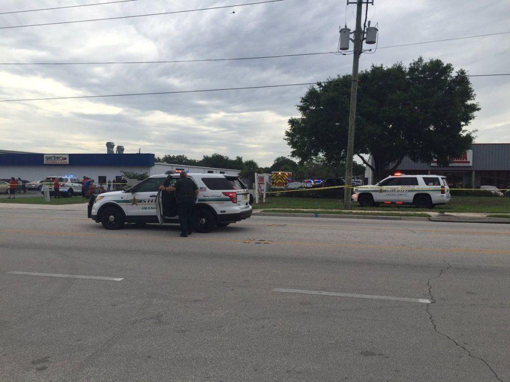 Tiroteo deja seis muertos en Orlando - Foto de @SAckermanWFTV