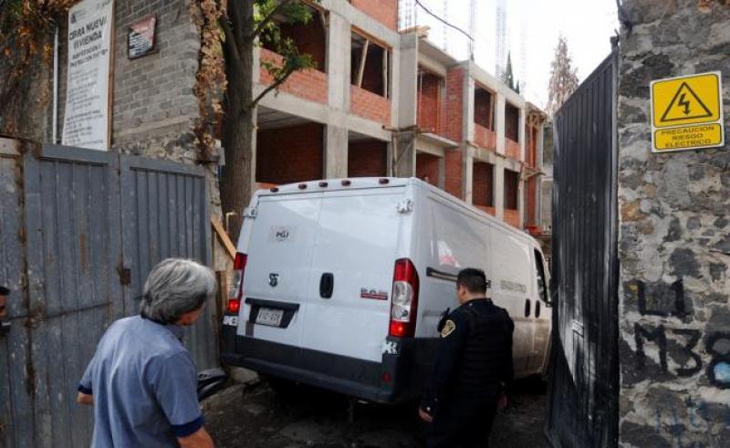 Ingeniero pierde la vida tras caer en obra de Tlalpan - Foto de El Gráfico