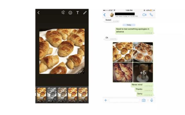 WhatsApp ya permite poner filtros en fotos