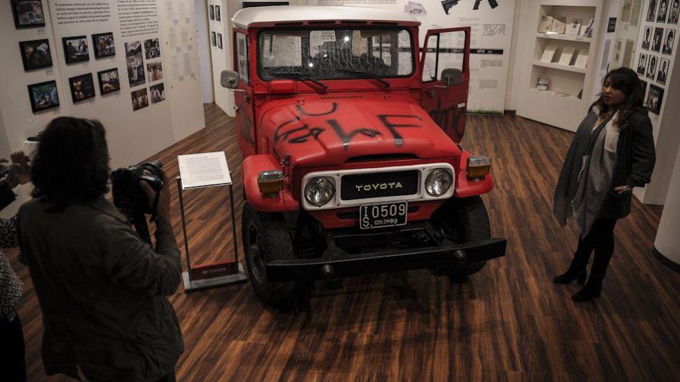 Museo en Colombia expone lucha contra las FARC y el narcotráfico