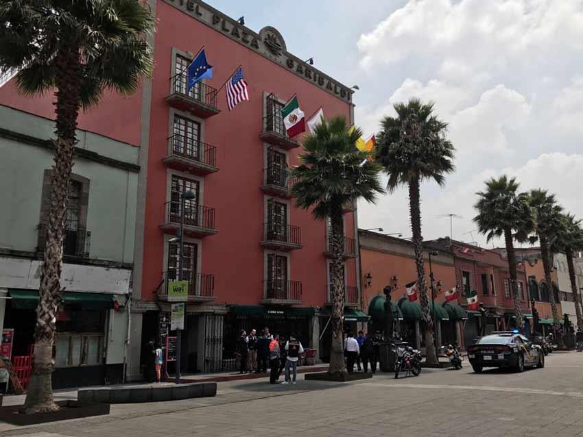 Encuentran cadáver en cisterna de hotel en el Centro Histórico