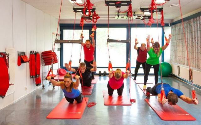 Redcord: más que entrenar en suspensión