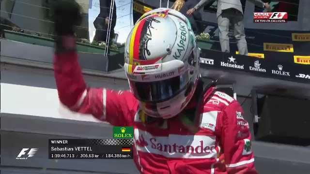 Vettel conquista el Gran Premio de Hungría - Foto de @F1LatinAmerica