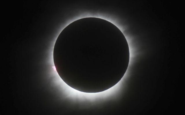 La primera fotografía de un eclipse - Foto de AP