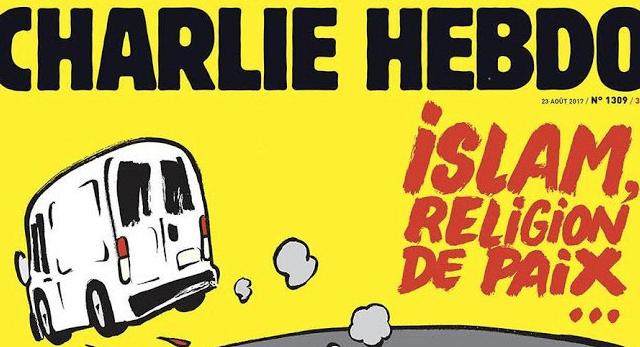 Charlie Hebdo publica portada sobre el Islam