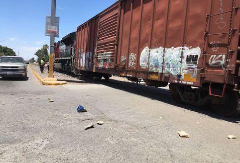 Amputan pie a hombre tras ser arrollado por el tren en Durango - Foto de Milenio
