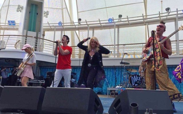 #Video Bonnie Tyler y DNCE cantan 'Total Eclipse of the Heart' durante eclipse - Foto de @DNCE
