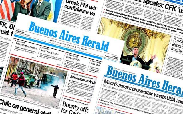 Buenos Aires Herald cierra tras 140 años de existencia - Foto de The Bubble
