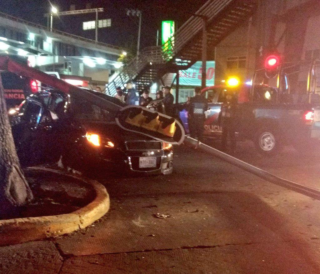 Choque en Mixcoac deja un muerto - Foto de Alertas Urbanas