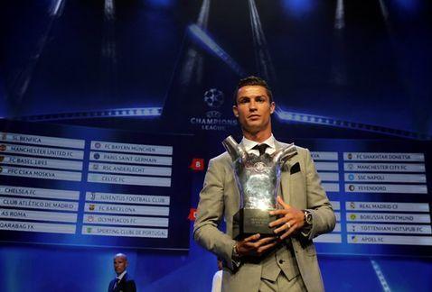 Reconocen a Ronaldo como mejor jugador de la UEFA por tercera ocasión - Foto de REUTERS
