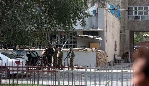 Ataque cerca de la embajada de EE.UU. en Kabul deja cinco muertos - Foto de AP