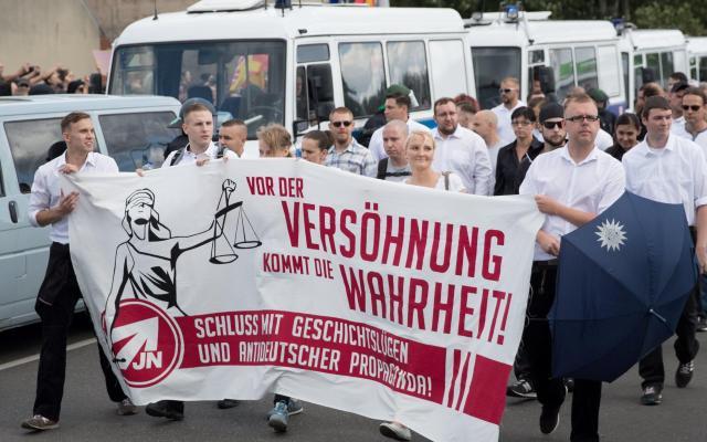 Detienen a 35 personas por marcha neonazi en Alemania - Foto de Todo Noticias